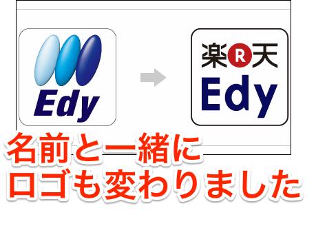 Edy名称変更