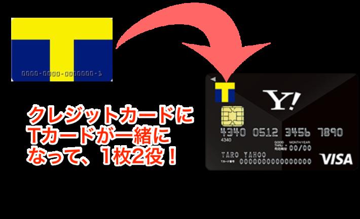 Tカード機能搭載Yahoo_Japanカード